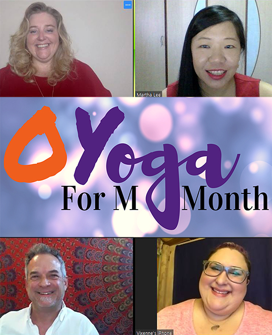 O Yoga For Masturbation Month