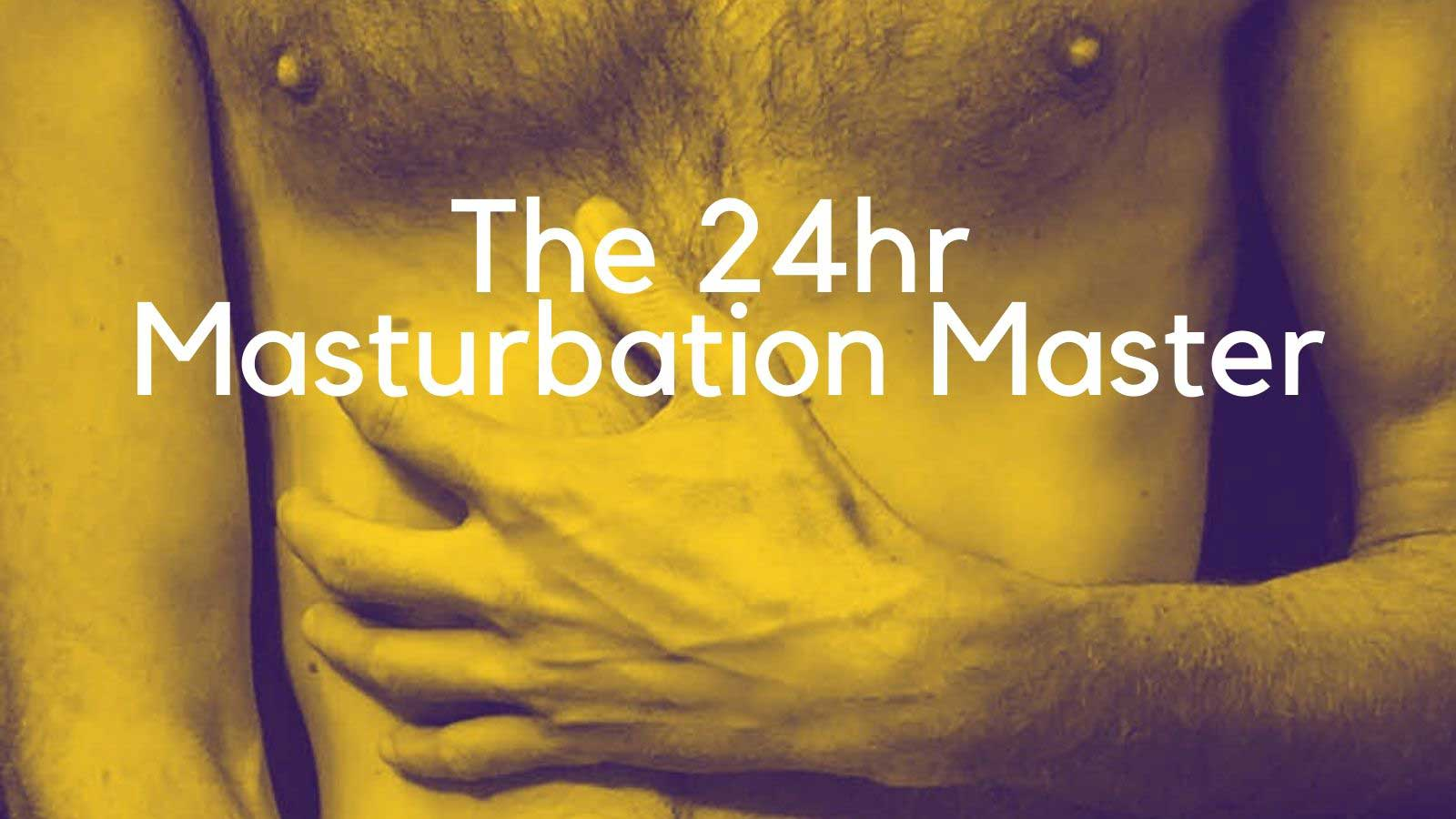 New Book Release THE 24HR MASTURBATION MASTER by BW Member Saboteur