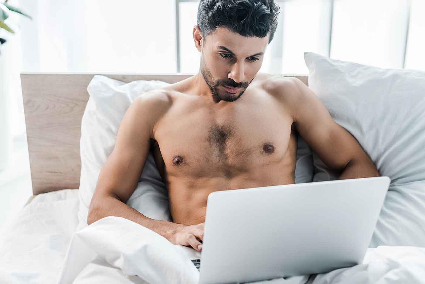 Representation of Male Masturbation in Pornography