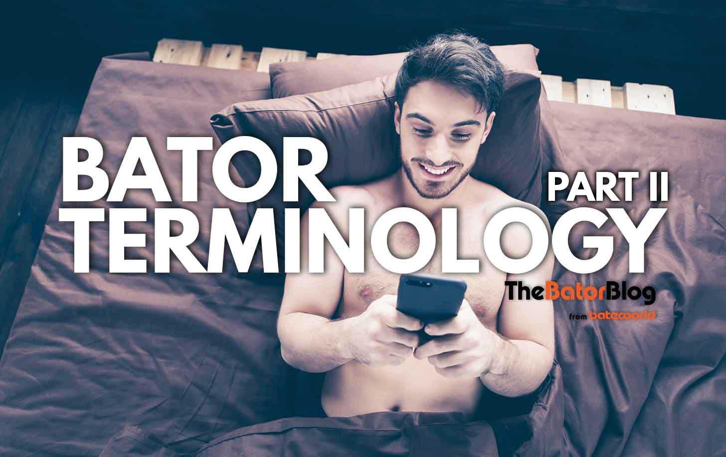 Bator Terminology II: Albolene & VHS Head Cleaners